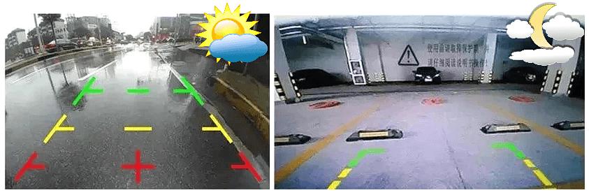 Парковочный ассистент: днем и ночью