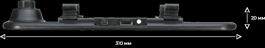 Ультратонкий корпус Vehicle Blackbox DVR